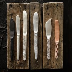 OnPoint #pottery #ceramics #props #propstyling #ceramicknives #cheese #cheeseknives #tableware #flatware #goldcoast #burleigh #handmade #homewares #handbuilt #knife #knives #handmadeceramics #cutslikeaknife #handcrafted #killerbreadboard from @propcoop_syd