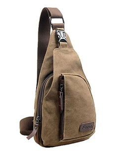 Cuteme® Men's Small Canvas Military Messenger Shoulder Travel Hiking Bag Backpack (Brown) - http://www.mansboss.com/cuteme-mens-small-canvas-military-messenger-shoulder-travel-hiking-bag-backpack-brown/?utm_source=PN&utm_medium=i+love+Cool+Gadgets&utm_campaign=SNAP%2Bfrom%2BMen%27s+Stuff