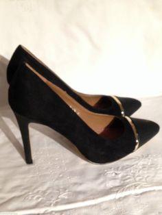 SUPERBES ESCARPINS NOIRES POINTURE 41 NEUVE EMBALLAGE PIN UP SEXY 10 CM FASHION in Vêtements, accessoires, Femmes: chaussures, Escarpins | eBay