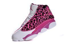 meet 3d29d 4bf08 Air Jordan 13 Womens Leopard Pink White  109.99 Air Jordans Women, Jordans  Girls, Womens
