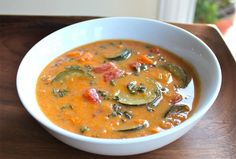 LOVE this soup!!! It's super easy and super tasty!!    http://www.joyofkosher.com/recipe/autumn-sweet-potato-soup/