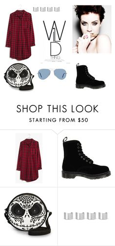 """Untitled #264"" by epa1412 on Polyvore featuring Madewell, Dr. Martens, Maison Margiela and Ray-Ban"