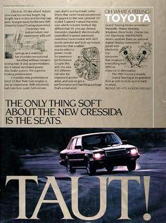 1983 Toyota Cressida Sedan Ad