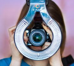 The Ring Flash Adapter surrounds your subjects in a ring of heavenly diffused light. $40