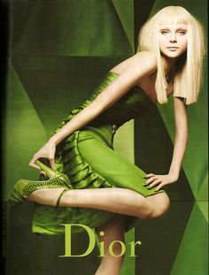 Jessica Stam for Dior