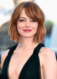 Emma Stone's Choppy Ends  - MarieClaire.com