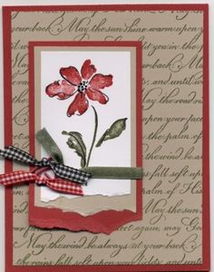 heartfelt thanks card by Becky B