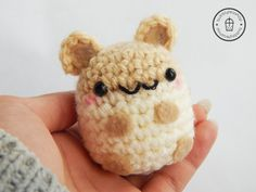 Amigurumi Hamster  Hamster Plush  Hamster by BubblyTeaShop on Etsy