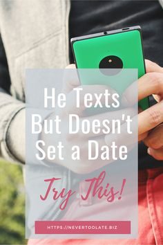 He texts but doesn't ask me out? If you've been talking, texting, video chatting or emailing but not dating. Here's how to change that now! Dating Blog, Dating Advice, Online Dating, Dating Again, Dating After Divorce, Still Single, Dating Coach, Ask Me