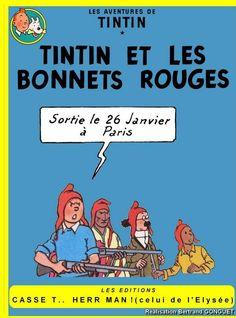 Les Aventures de Tintin - Album Imaginaire - Tintin et les Bonnets Rouges