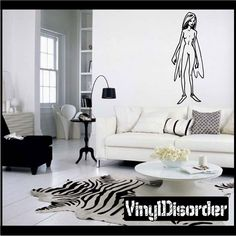 Fairy Wall Decal - Vinyl Decal - Car Decal - CF031