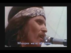 """""""I'm Fixin to Die Rag"""" by Country Joe McDonald and the Fish.  Thoughts of my college hippy days....peace, love, sex drugs, and rock and roll!  A more innocent time."""