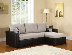 Jack Knife Sectional Sofa Bed - $500.00  Makes into a bed - super cool! I want this one!