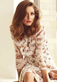 Everything Fabulous: Fashion Inspiration: Olivia Palermo Glams up for Marie Claire Spain