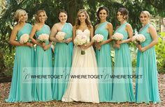 Chiffon Turquoise Long Bridesmaid Dresses A Line One Shoulder Cheap 2016 Modest Maid Of Honor Dresses Under 100 Plus Size Online Bridesmaid Dresses Pale Blue Bridesmaid Dresses From Wheretoget, $80.41| Dhgate.Com