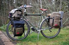 For the Long Haul Short Stack Pannier Via Cycle Love Target Audience Trendy Cycling Touring Bicycles, Touring Bike, Mtb, Powered Bicycle, Bike Bag, Cargo Bike, Bike Style, Bike Accessories, Cycling Bikes