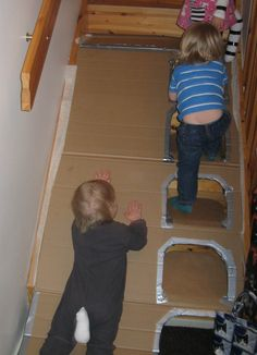Fun with Cardboard Craft Activities For Kids, Infant Activities, Projects For Kids, Diy For Kids, Cool Kids, Crafts For Kids, Big Cardboard Boxes, Cardboard Box Crafts, Cardboard Box Ideas For Kids