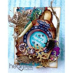 Heartfelt Creations - Porthole Birthday Card Project