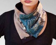 """Résultat de recherche d'images pour """"comment faire des franges à une écharpe en tissu"""""""