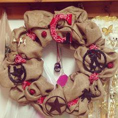 Western Themed wreath