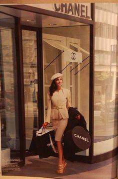 Chanel shopping