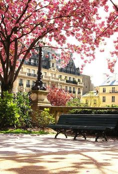 paris on a spring day