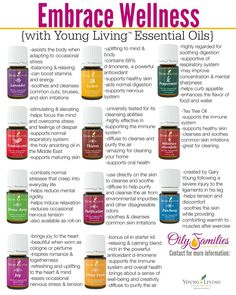 {EMBRACE WELLNESS} With Young Living Essential Oils