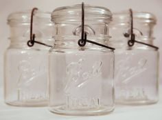 Clear Ball Ideal Pint Canning Jars