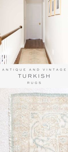 Discover all the details about vintage Turkish rugs! Learn the difference between Kilim rugs and others, how to layer your rug on carpet, where to find them, how they're cleaned, dyed and more!
