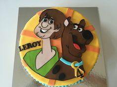 Scooby doo taart