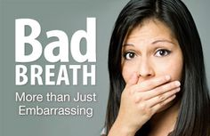 Co-workers list bad breath as number one thing they would change about each other.  Heré is a great article about what causes bad breath, and most importantly how to get rid of it!