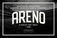 Areno by BoxTube Labs on @creativemarket
