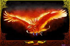 How to Draw a Phoenix Bird of Flames, Step by Step, Phoenix, Fantasy, FREE Online Drawing Tutorial, Added by Dawn, April 19, 2009, 2:18:25 pm