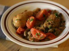 Pui cu ciuperci si Marsala - Carrefour-Pentru o viata mai buna