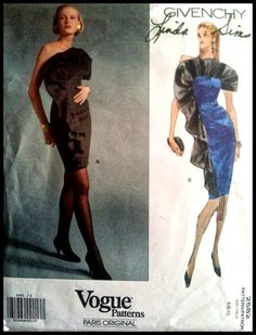 Vogue Paris Original 2582    Givenchy   Misses' by ThePatternShopp, $35.00