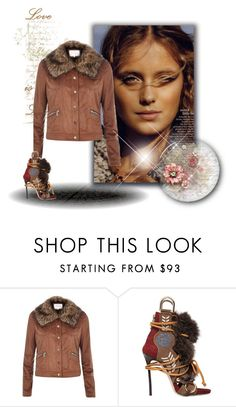 """Stay fresh this autumn x"" by xpinkplaymatex ❤ liked on Polyvore featuring River Island and Dsquared2"