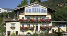 Featuring a lake-view balcony or terrace, Haus Sonnenheim apartments enjoy a quiet location, a walk from the center of Zell am See and a Lake View, Apartments, Balcony, Terrace, Mansions, House Styles, House, Balconies, Porch