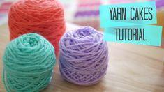 CROCHET: How to make yarn cakes | Bella Coco