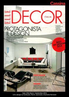 Italy | Elle Decor | September 2014 | LC4, design Le Corbusier, Pierre Jeanneret, Charlotte Perriand | Discover more on: http://cassina.com/it/collezione/poltrone-e-divani/lc4