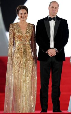 Kate Middleton Prince William, Prince William And Catherine, Duchess Of Cornwall, Duchess Of Cambridge, James Bond Actors, Jenny Packham Dresses, Duke And Duchess, Prom Dresses, Gowns