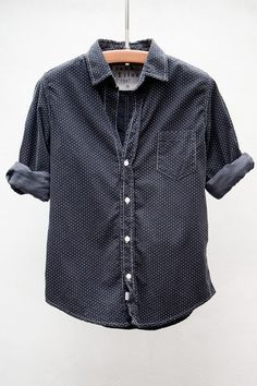 Polka Dot Corduroy Bary Shirt by Heist/Frank & Eileen