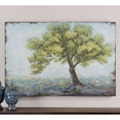 FREE SHIPPING! Shop Wayfair for Uttermost Standing Alone Original Painting on Canvas - Great Deals on all Office products with the best selection to choose from!