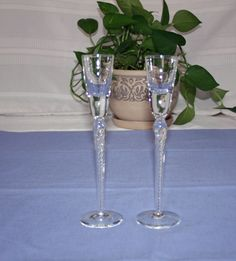 Vintage Stuart Crystal Hand Made & Blown Iona Ariel Tall Aperitif, Cordial Glasses Waterford;  champagne, candlesticks, shot glass by KattsCurioCabinet on Etsy