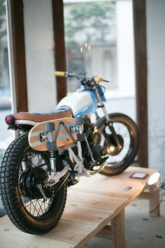 Honda Street Tracker with a Skateboard Holder                                                                                                                                                                                 More