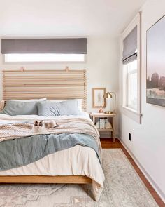 The DIY Headboard You All Wanted To Know About - Emily Henderson #DIY #bedroomdecor #homedesign Homemade Furniture, Homemade Home Decor, Diy Home Decor, Good Night Sleep Well, Design Your Bedroom, California King Bedding, Diy Canopy, Wood Headboard, Headboards