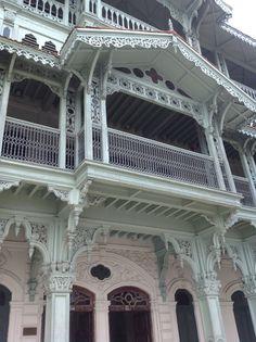 """Zanzibar the """"Old dispensary"""" main balcony."""