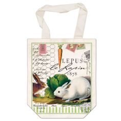 NEW Bunnies French Market Bag  www.TheConsignmentBag.com We ship Worldwide!