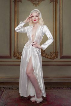 Bridal Nell Robe Betty Blues Loungerie