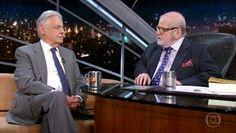 Jô Soares entrevista o ex-presidente Fernando Henrique Cardoso
