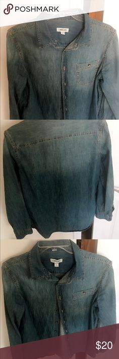 JeAns shirt ComfortAble fit,,  girly chic,, Cherokee Jackets & Coats Jean Jackets
